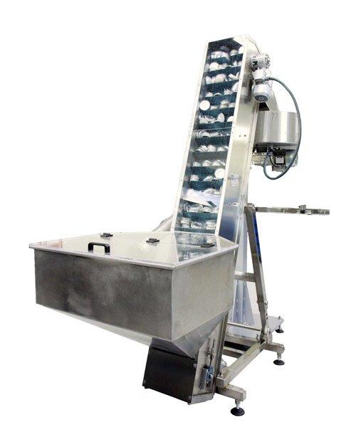 Elevador de tapones maquina de tapado