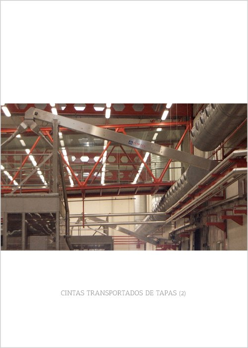 CINTAS TRANSPORTADORAS DE TAPAS