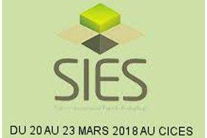 SIES 2018 Mars 20 - 23