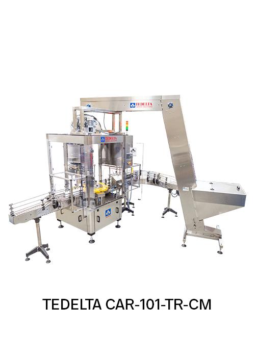 Maquina Taponadora Lineales Pick & place TEDELTA-CAR-101-TR-CM