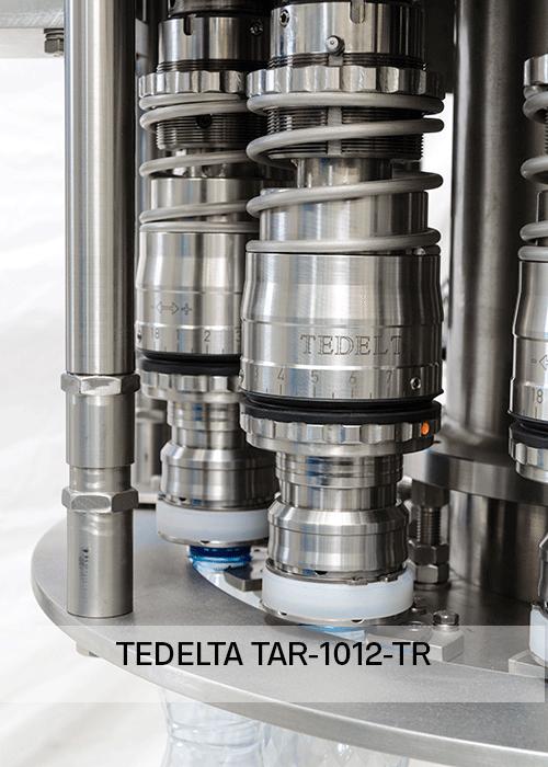 Maquina Taponadora Torreta tapado Pick & place TAR 1012
